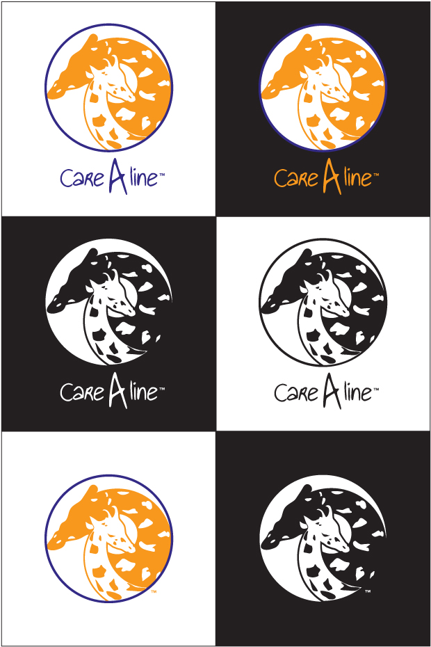 CareAline Logo Variations