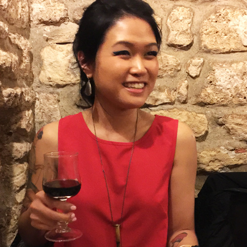 Pain, Vin, Fromage, April 2015. There's a lot about life you can realize and appreciate drinking wine in a Paris dungeon.