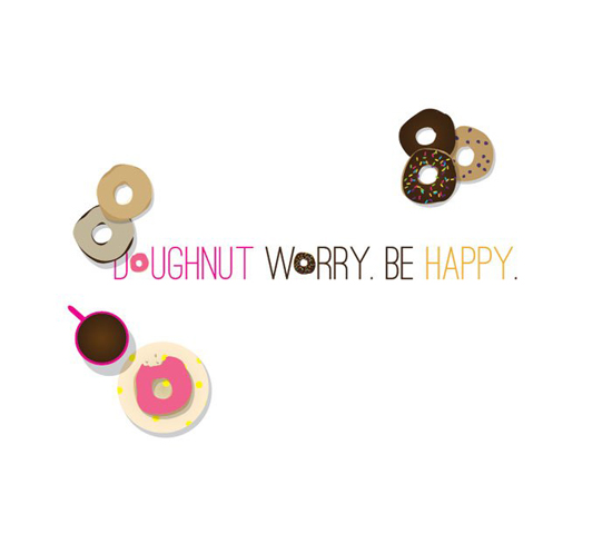 Smile Lifestyle Boutique Doughnut Worry Wallpaper