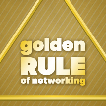 I graduated art school. Now what? Learn the Golden Rule of Networking.