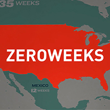 On-screen Graphics: Zero Weeks